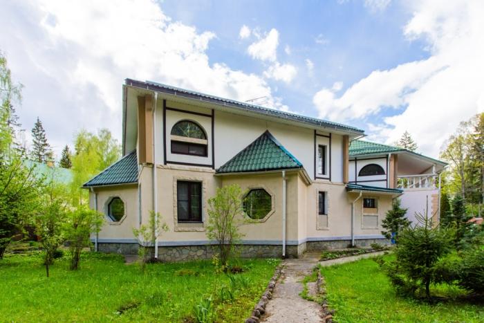 Дом 600кв. м— Роскошный дом сотделкой под ключ. Коттеджный поселок Жаворонки, Минское шоссе, 20км отМКАД.