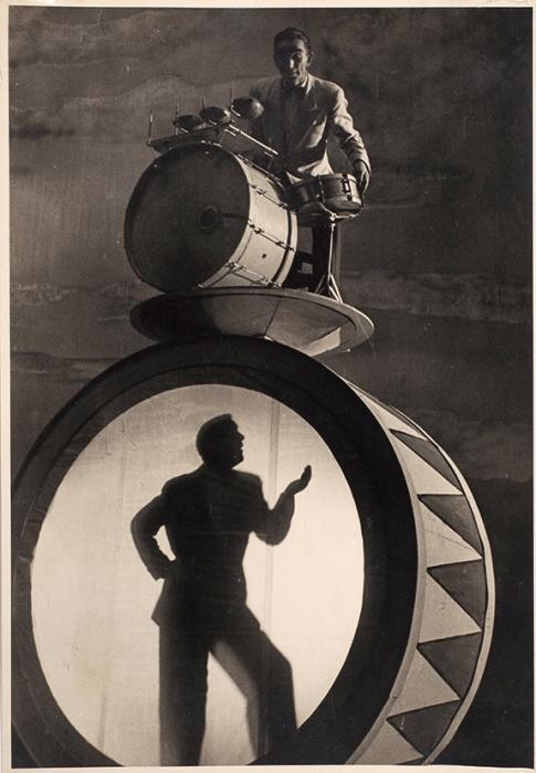 [Вконструктивистском стиле] Фотография: Джаз Леонида Утесова. [ Л., 1930-е гг.].