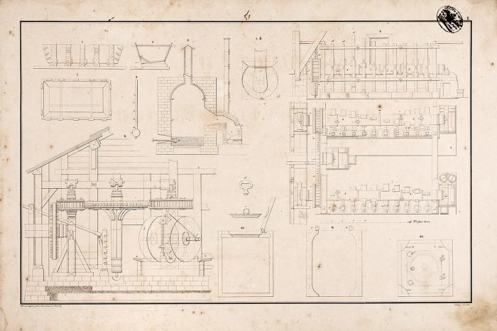 Наука морской артиллерии. Чертежи ирисунки. СПб., 1846.