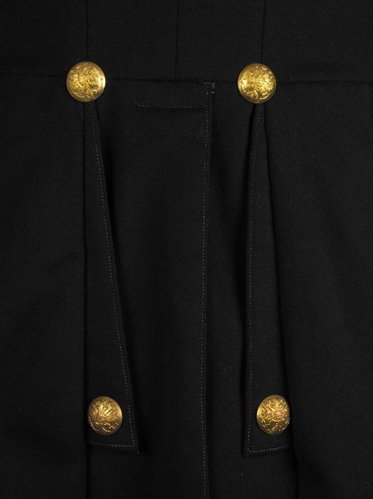 Парадный морской мундир офицера-артиллериста, капитана Второго ранга, сознаком обокончании минно-торпедных офицерских классов, вкомплекте сэполетами. [Б.м., 1855].