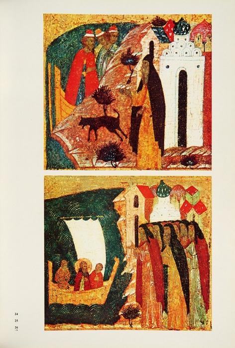 Маясова, Н.Памятник Соловецких островов: икона «Богоматерь Боголюбская сжитиями Зосимы иСавватия», 1545. Л.: Аврора, 1969.