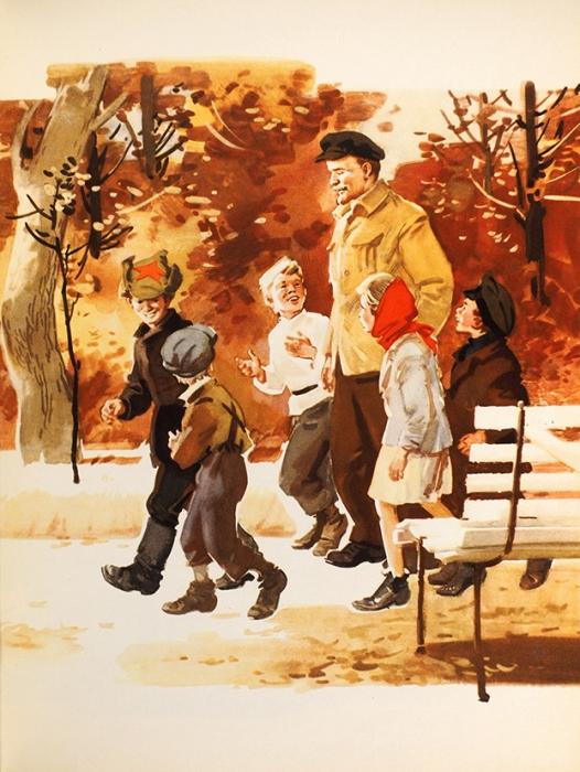 Михалков, С. Вмузее В.И. Ленина худ. И.Ильинский [автограф]. М.: Детская литература, 1969.